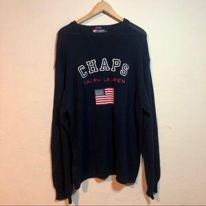 Chaps Ralph Lauren USA Flag Sweater